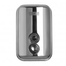 Диспенсер для жидкого мыла BXG antivandal, наливной, нержавеющая сталь, 0,5 л, BXG SD H1-500