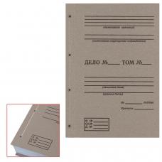 Крышки переплетные картонные А4, 305х220 мм, с печатью 'Дело' ф. 21', КОМПЛЕКТ 100 шт.