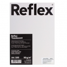Калька REFLEX А4, 90 г/м, 100 листов, белая, R17119