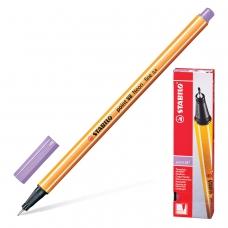 Ручка капиллярная STABILO 'Point 88', СВЕТЛО-СИРЕНЕВАЯ, корпус оранжевый, линия письма 0,4 мм, 88/59