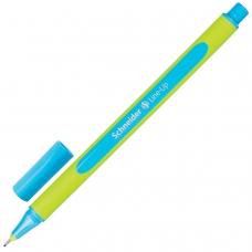 Ручка капиллярная SCHNEIDER 'Line-Up', ЛАЗУРНАЯ, трехгранная, линия письма 0,4 мм, 191010