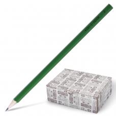 Карандаш чернографитный KOH-I-NOOR, 1 шт., H, без резинки, корпус зеленый, заточенный, 1702003005KK