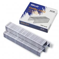 Скобы для степлера KW-trio № 23/13, 1000 штук, в картонной коробке, до 100 листов, -023D