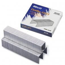Скобы для степлера KW-trio № 23/17, 1000 штук, в картонной коробке, до 140 листов, -023H