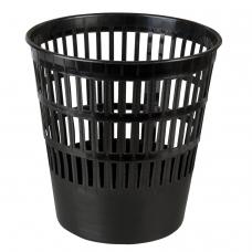 Корзина для бумаг BRAUBERG-MAXI, сетчатая, 16 л, черная, 231165