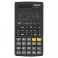 Калькулятор инженерный STAFF STF-310, МАЛЫЙ 142х78 мм, 10+2 разрядов, двойное питание, 250279