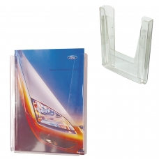 Подставка для рекламных материалов настенная, для листов А4, 290х215х32 мм, №12