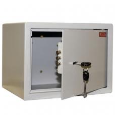 Сейф офисный мебельный облегченной конструкции AIKO 'Т23', 230х300х250 мм, 5,5 кг, ключевой замок, крепление к стене, полу