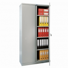Шкаф металлический офисный ПРАКТИК 'M-18', 1830х915х370 мм, 45 кг, разборный