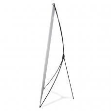 Стенд мобильный для баннера, 'X-banner А2', размер рекламного поля 800х2000 мм, углепластик, 290518