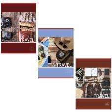 Тетрадь А4, 96 л., BRAUBERG ЭКО, клетка, обложка картон, В ПУТЬ, 403069
