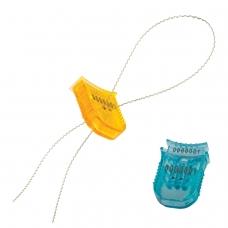 Пломбы стиропластовые номерные, 'Гарпун', самофиксирующиеся, комплект 100 шт. проволока 600811, 600280, 602474
