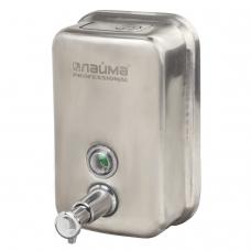 Диспенсер для жидкого мыла ЛАЙМА PROFESSIONAL, 0,5 л, нержавеющая сталь, матовый, 605396